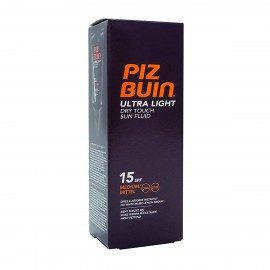 piz buin ultra light dry touch sun fluid spf15 medium 150ml